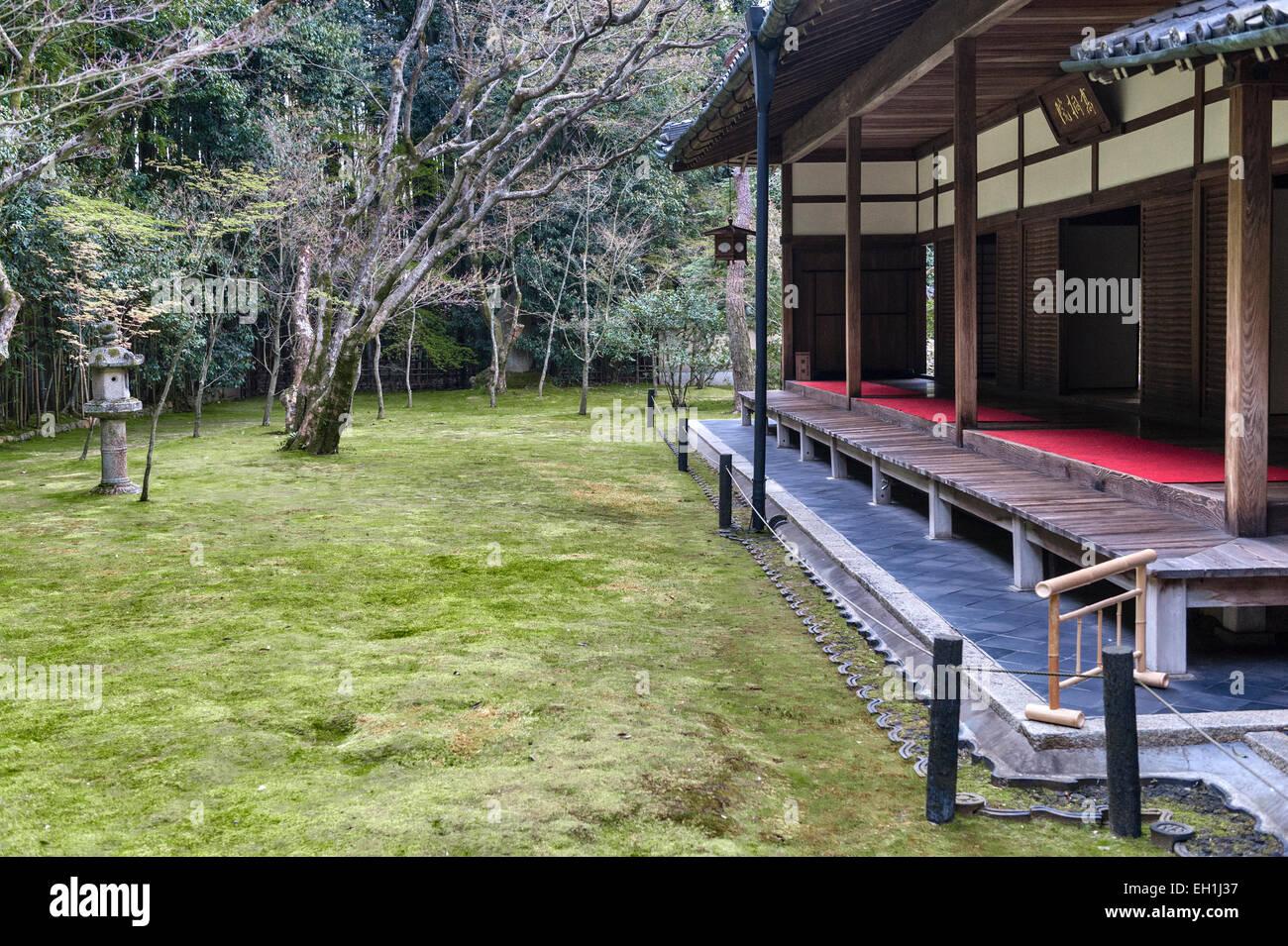 Koto-in Zen Buddhist temple, Daitoku-ji, Kyoto, Japan. - Stock Image