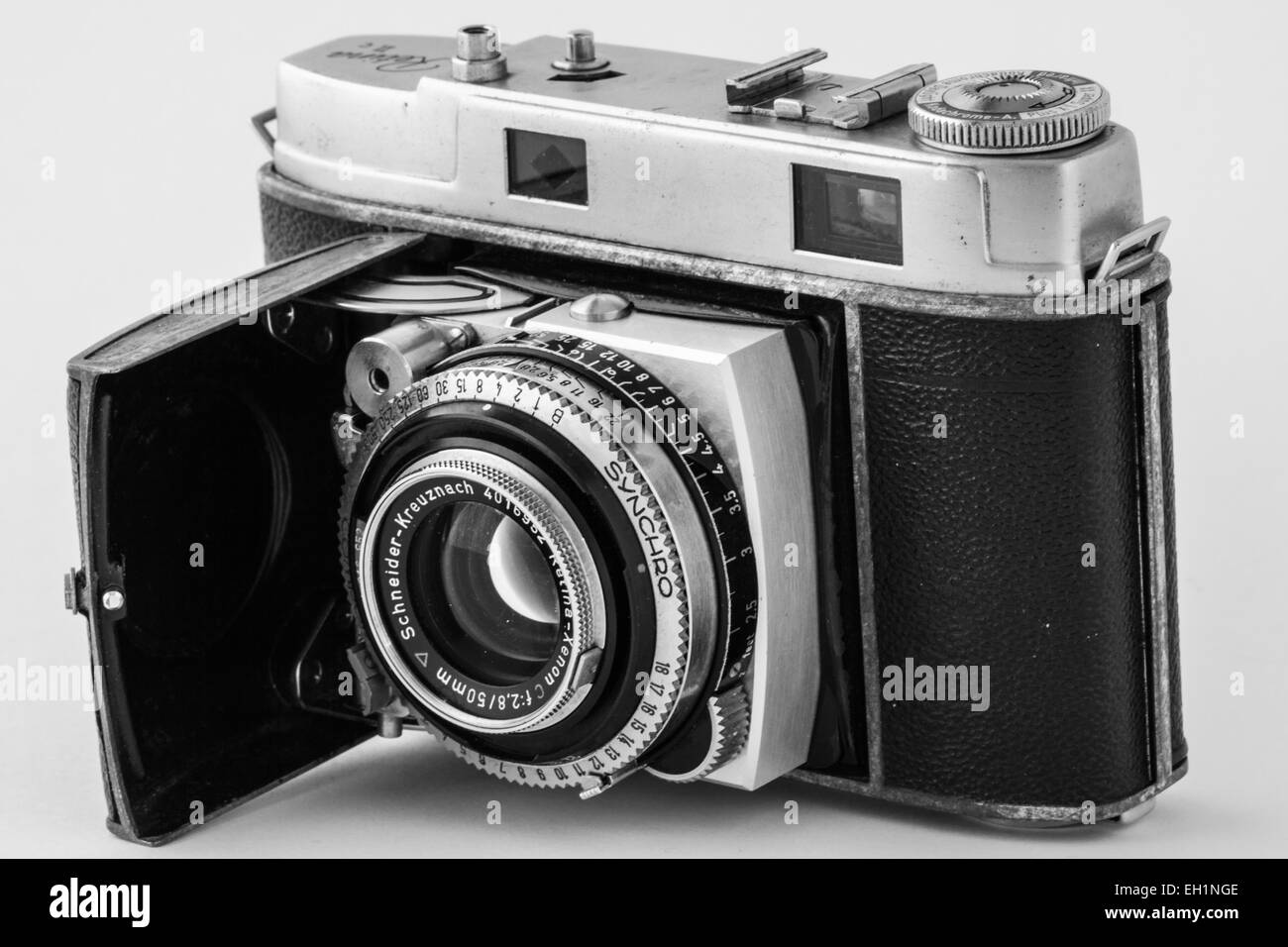 Kodak Retina 2c, a rangefinder camera popular in the 50s and 60s. - Stock Image