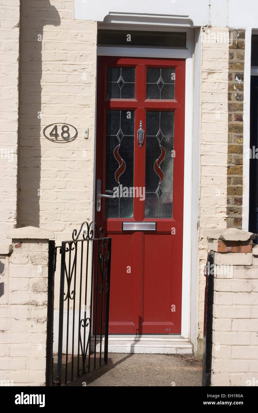 House Number 48, Greenwich, SE10, London, England, UK   Stock Image