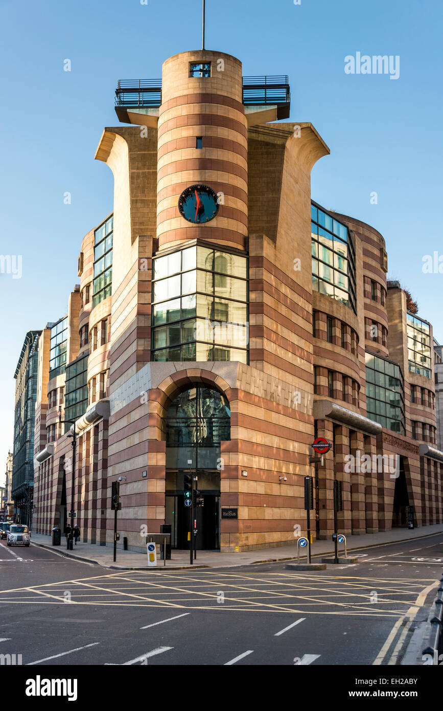 no 1 poultry is a commercial office development on bank junction in