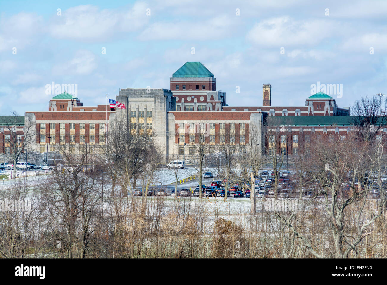 The Federal Medical Center Lexington (FMC Lexington) is a United States federal prison in Kentucky for male inmates - Stock Image
