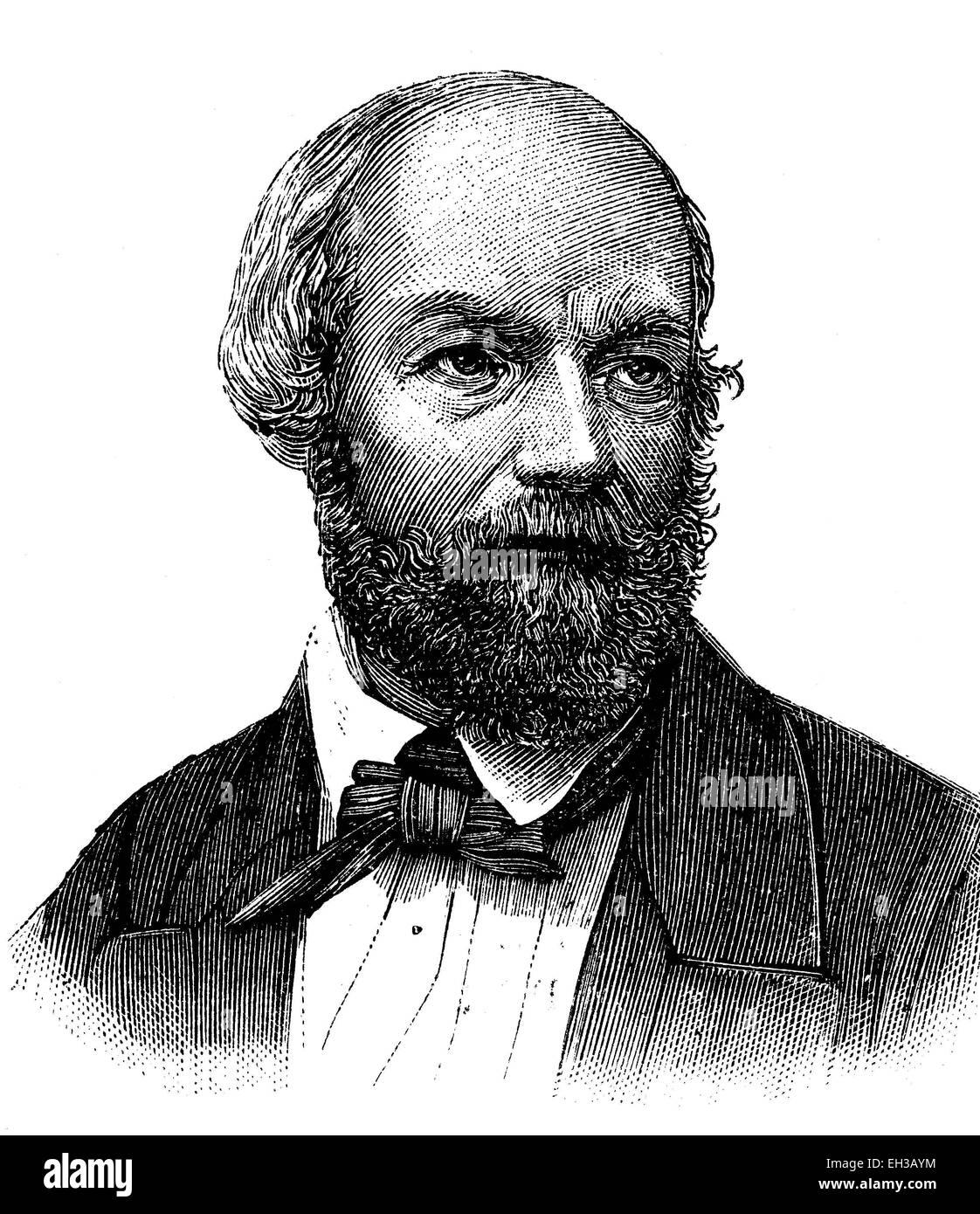 Carl Stedmann, 1804-1882, Mitglied der Frankfurter Nationalversammlung - Stock Image
