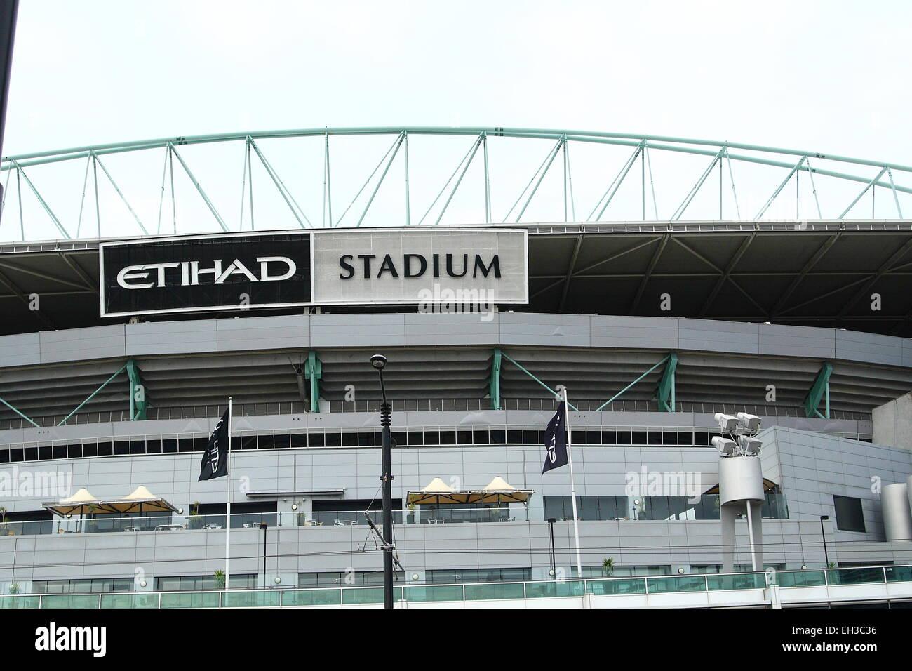 Etihad Stadium Melbourne Australia Stock Photo - Alamy