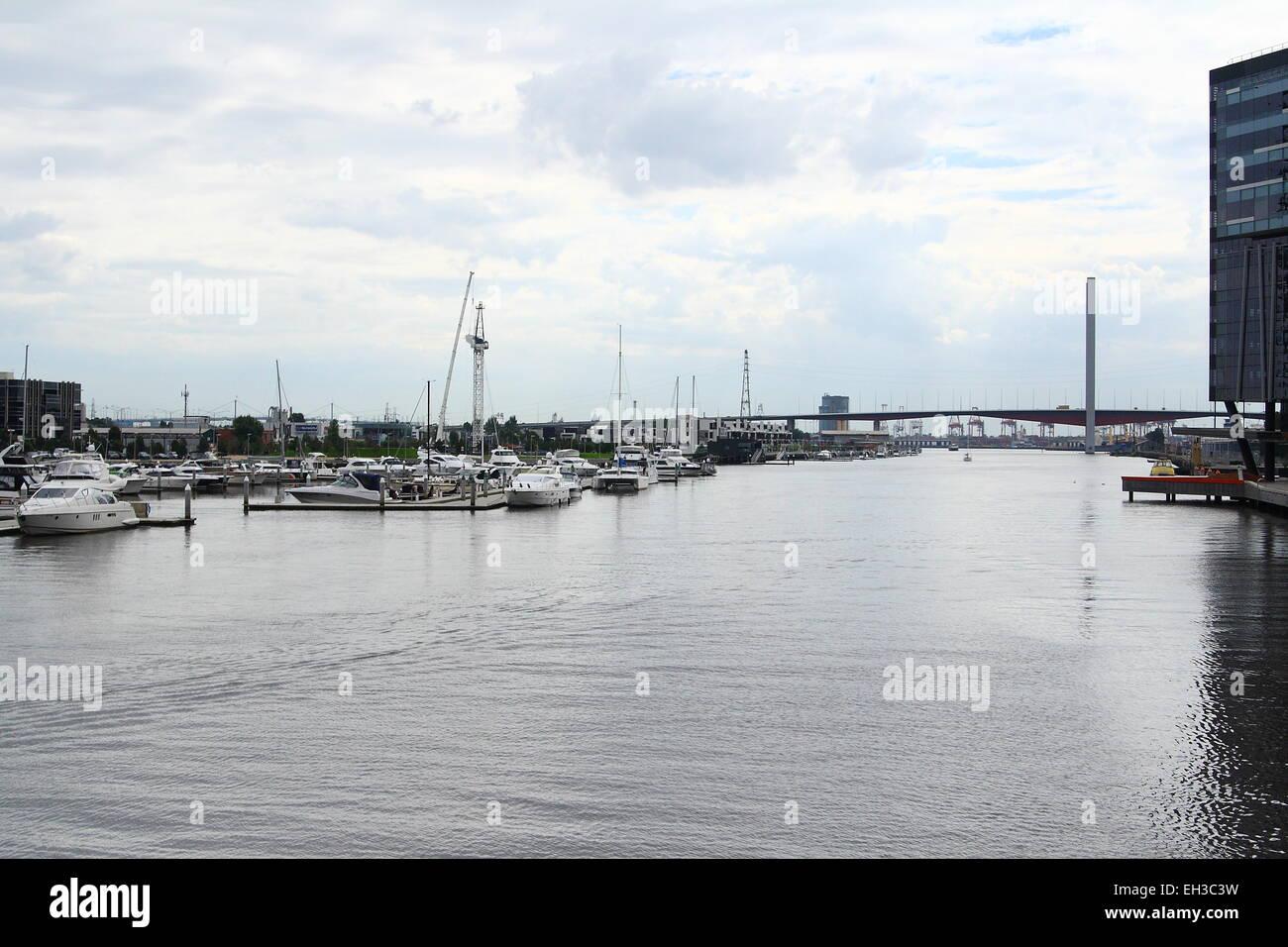 Docklands Melbourne Victoria Australia - Stock Image