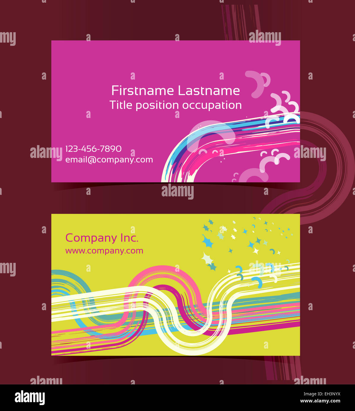 Business card layout editable design template eps10 vector stock business card layout editable design template eps10 vector transparencies used reheart Images