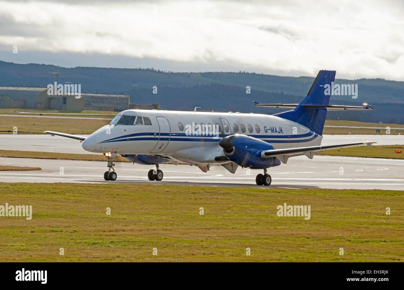 BAe Jetstream 4102 Turboprop short haul regional passenger transport commuter Civil airliner.  SCO 9630 - Stock Image
