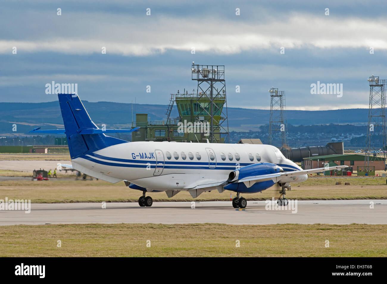 BAe Jetstream 4102 Turboprop short haul regional passenger transport commuter Civil airliner.  SCO 9616. - Stock Image