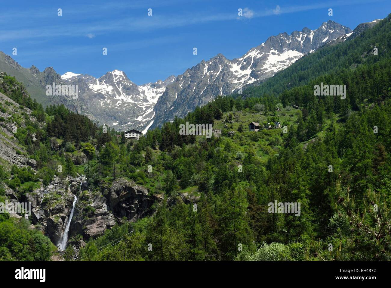 France, Alpes Maritimes, Parc National du Mercantour (Mercantour national park), Haute Vesubie, Gordolasque valley,the Stock Photo