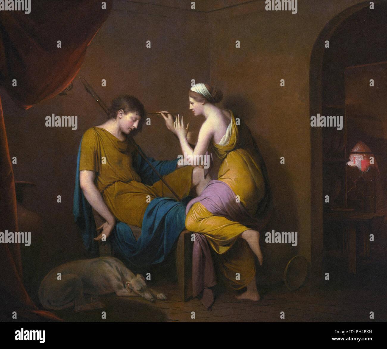 Joseph Wright  The Corinthian Maid - Stock Image