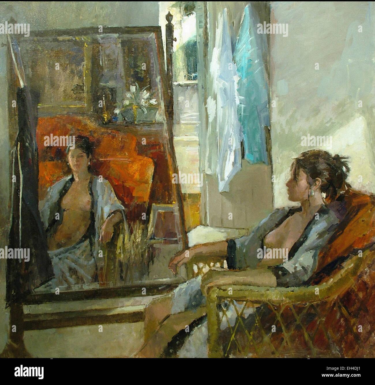Jane Corsellis  Reflection II - Stock Image