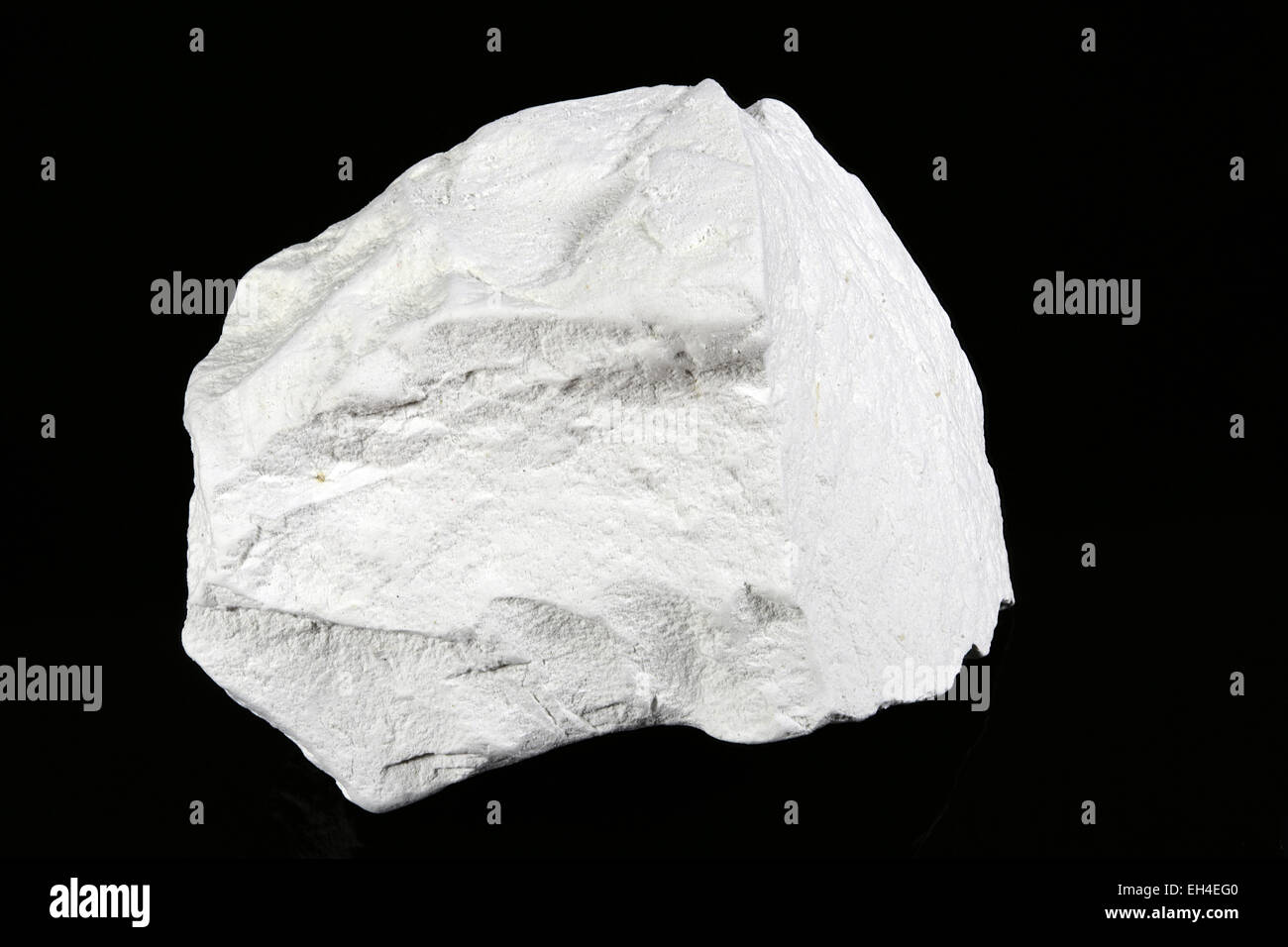 Diatomite (Diatomaceous earth), sedimentary rock specimen - Stock Image