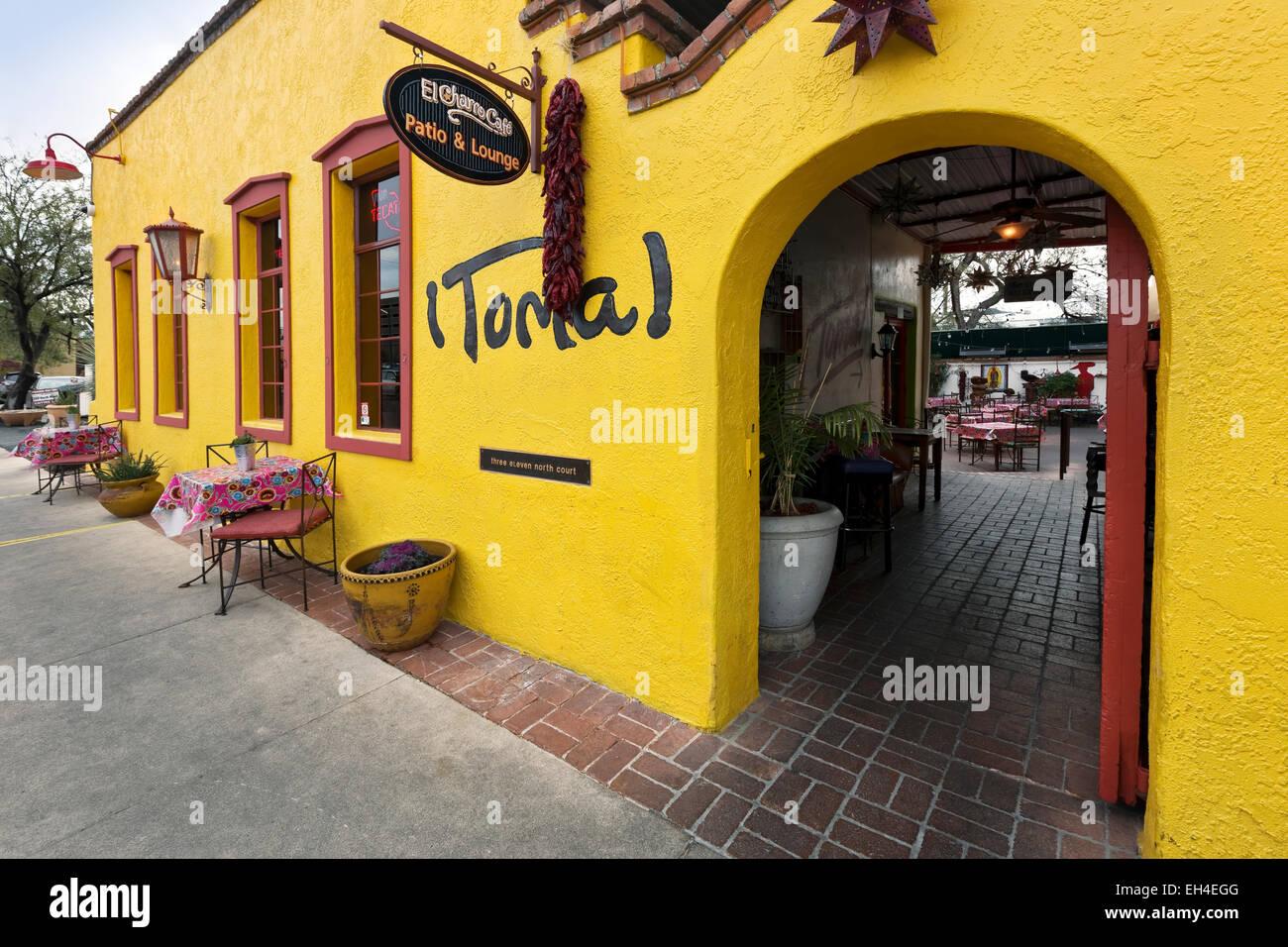 El Charro Mexican Restaurant Tucson Arizona Stock Photo 79389872