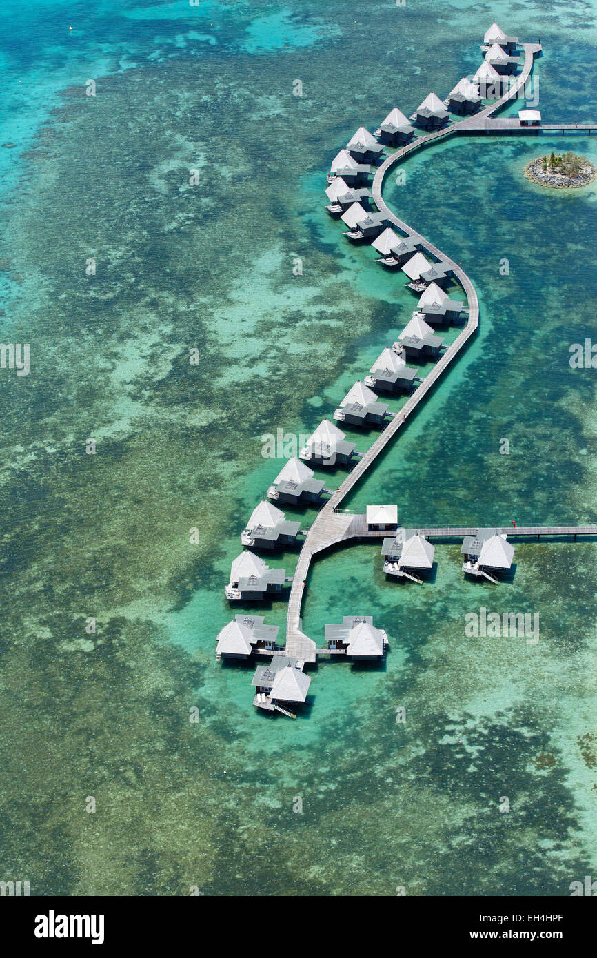 France, New Caledonia, Southern Province, off Noumea, nature reserve island Master, Lagoon listed as World Heritage - Stock Image