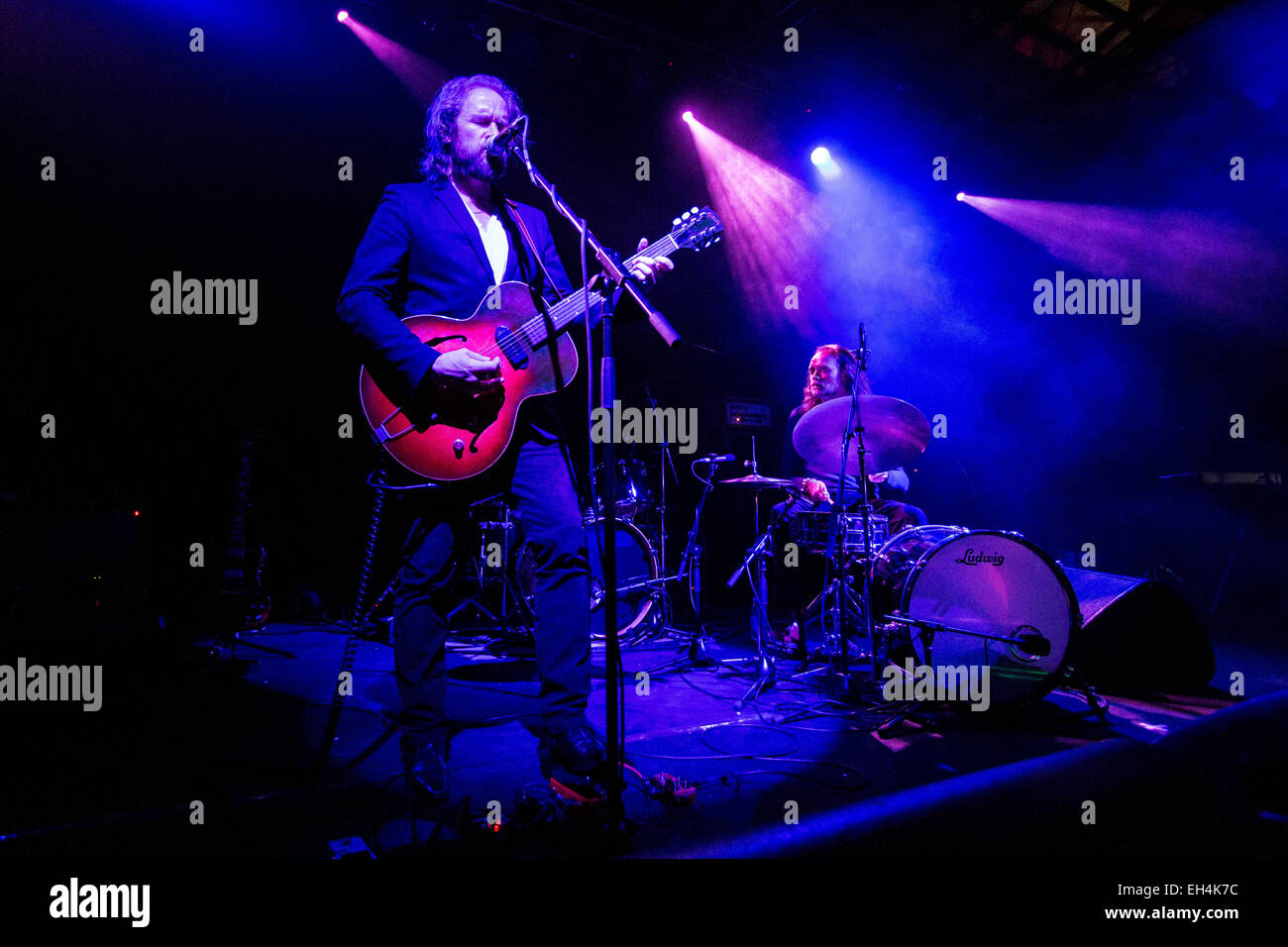 ef412c30446b DUKE GARWOOD performs live at the music club Alcatraz opening the show of  Mark Lanegan Band Credit  Rodolfo Sassano Alamy Live News