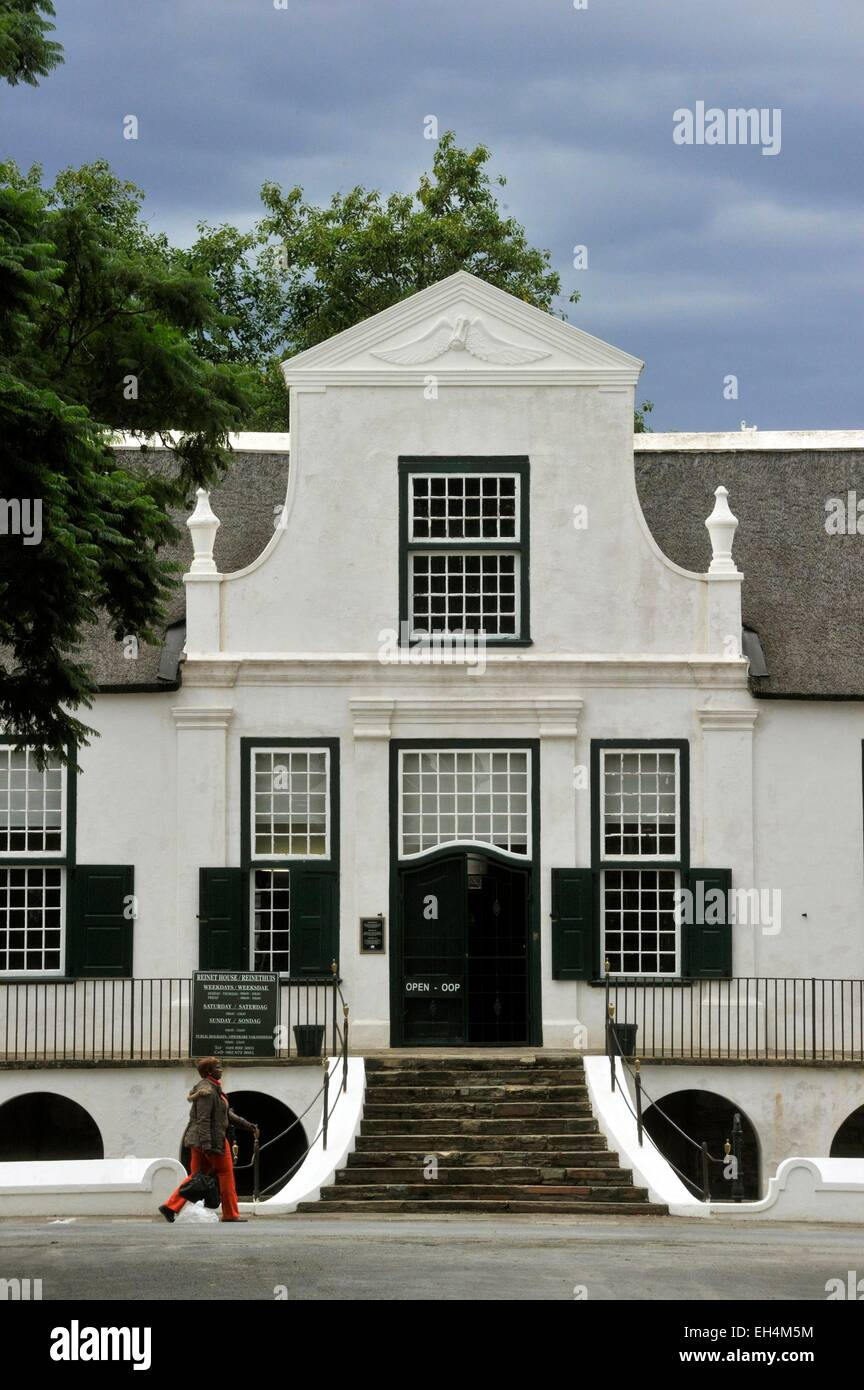 South Africa, Eastern Cape, Karoo, Graaff Reinet, Reinet house - Stock Image