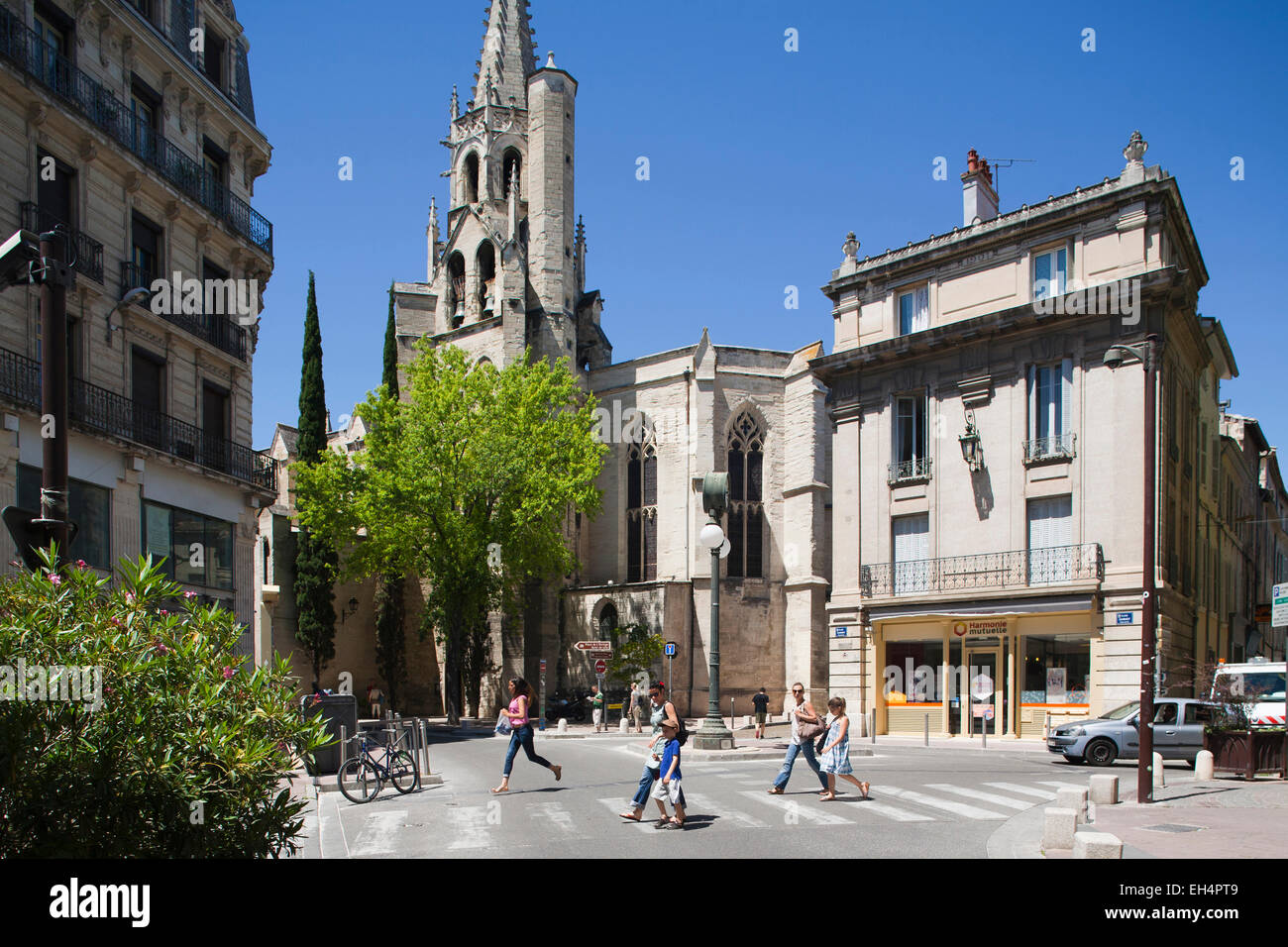 eglise st. pierre, avignon, provence, france, europe - Stock Image