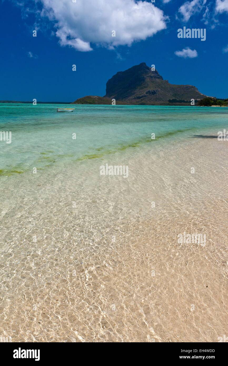 Mauritius, South West Coast, Black River District, Prairie Beach and Morne Brabant listed as World Heritage by UNESCO - Stock Image