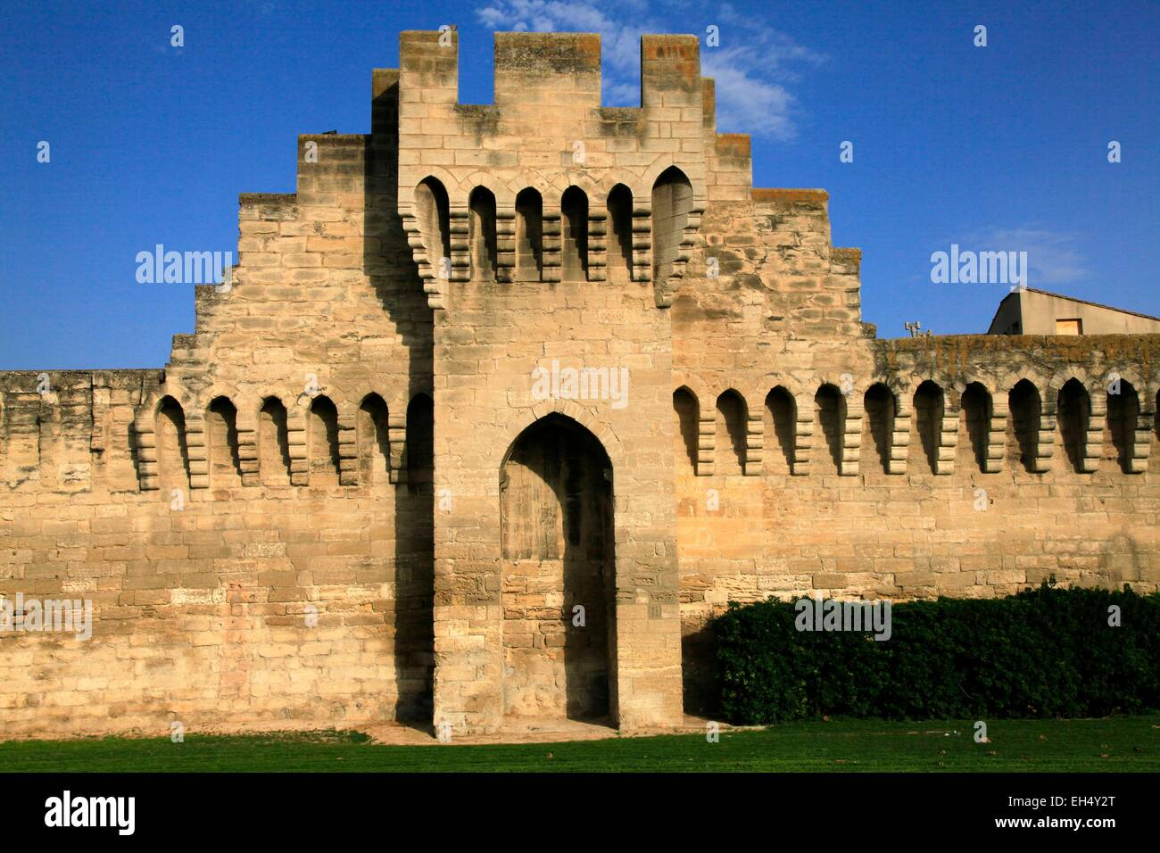France Vaucluse Avignon Historical Centre Listed As World Heritage Stock Photo Alamy
