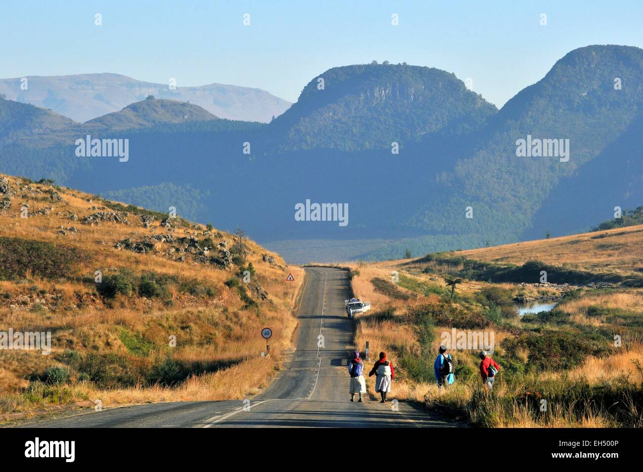 South Africa, Mpumalanga, Drakensberg Escarpment near Graskop - Stock Image