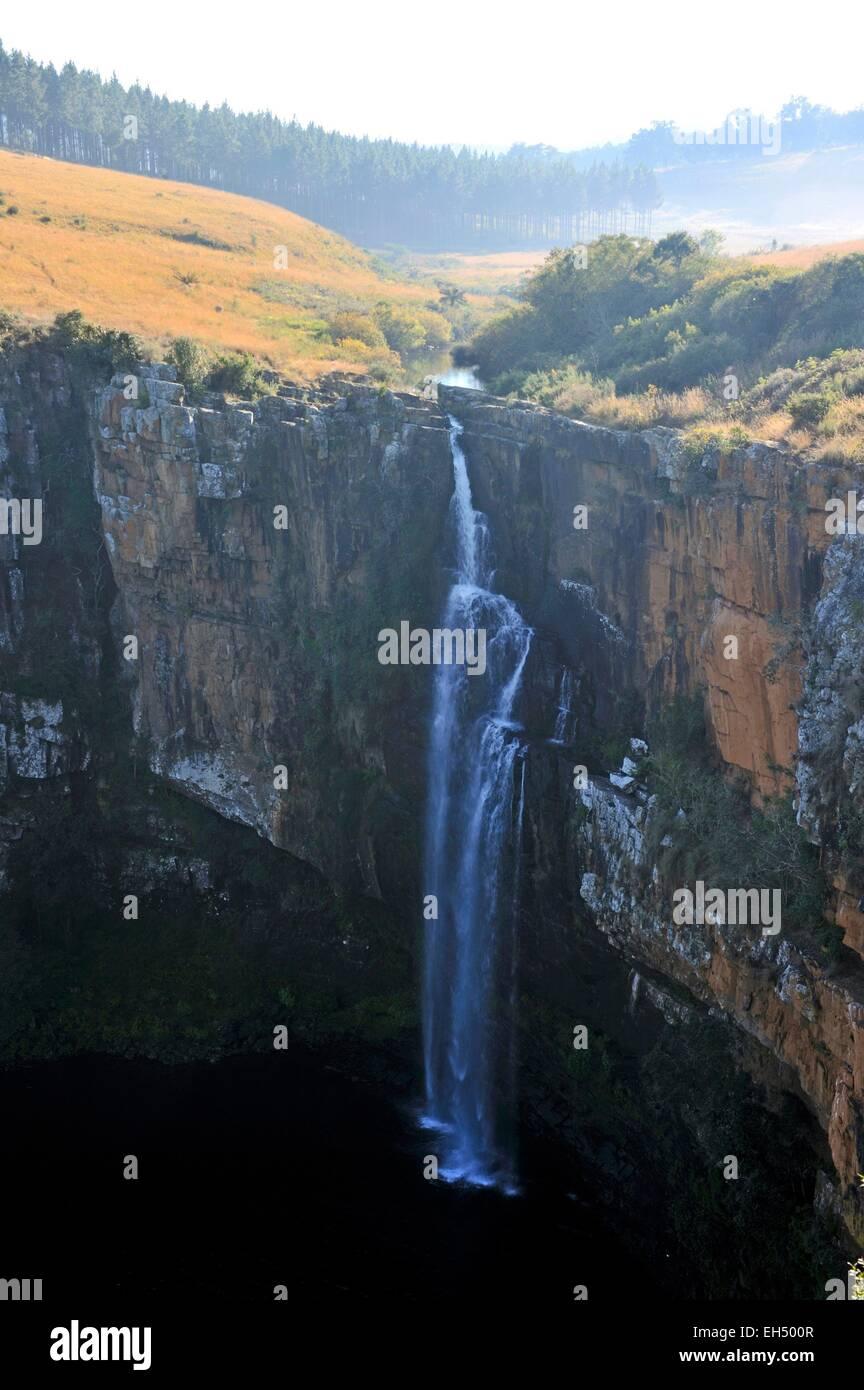 South Africa, Mpumalanga, Drakensberg Escarpment, Blyde River Canyon, Berlin Falls - Stock Image