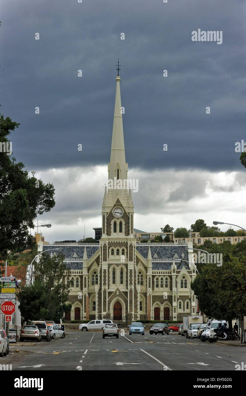South Africa, Eastern Cape, Karoo, Graaff Reinet, The Dutch Reformed Church - Stock Image