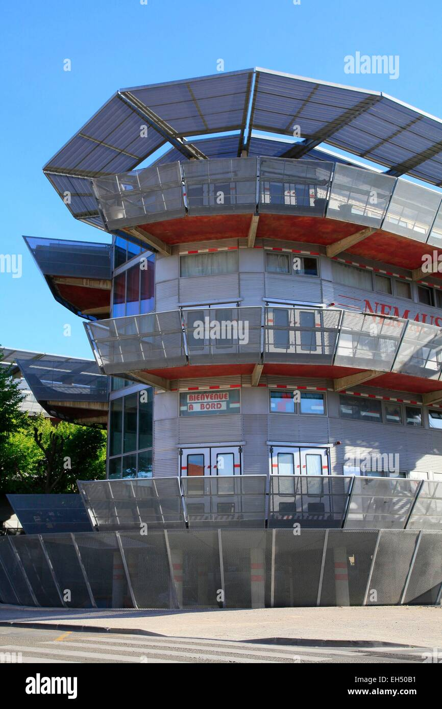 france gard nimes nemausus social housing realized by the stock