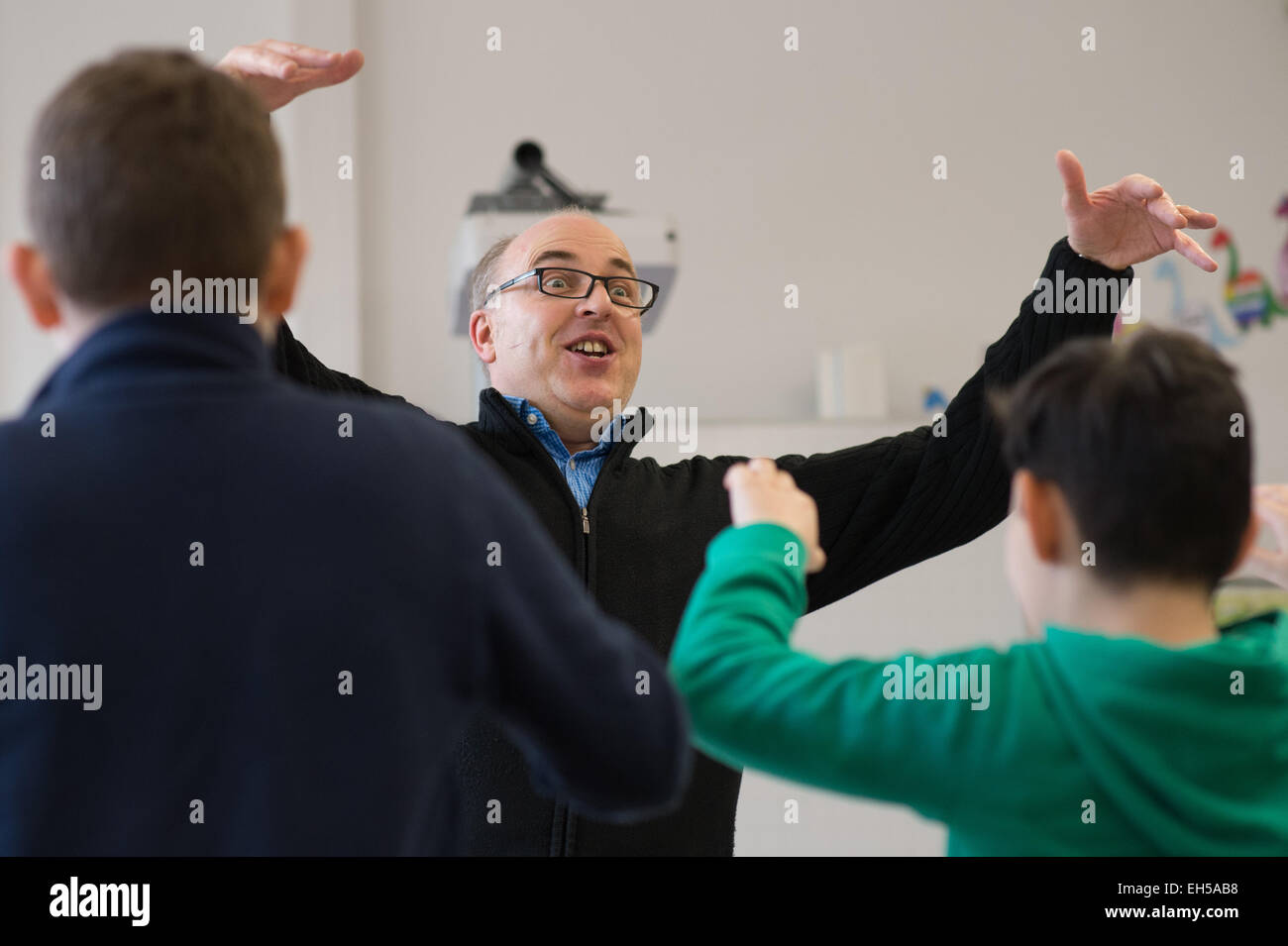 Regensburg, Germany. 5th Mar, 2015. Magnus Gaul, head of the professorship for music pedagogy at Regensburg University - Stock Image