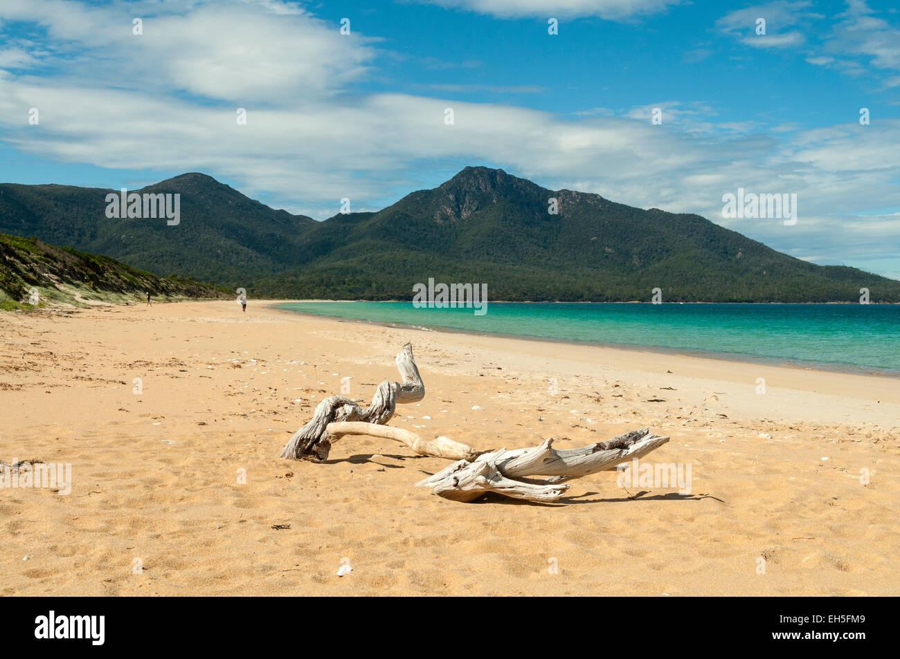 Hazards Beach, Freycinet NP, Tasmania, Australia - Stock Image