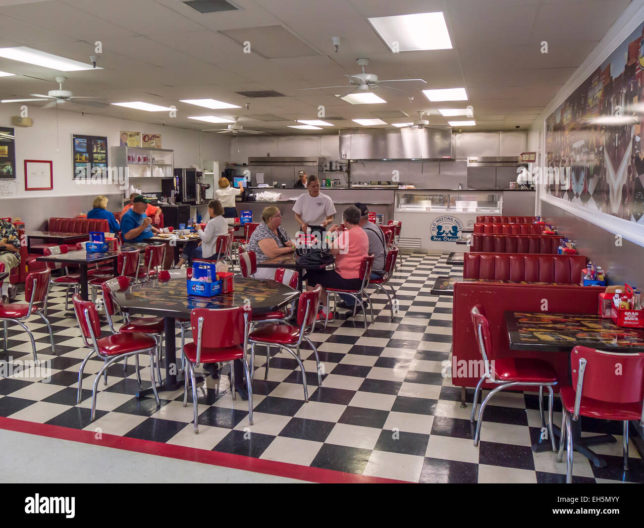 Cafe At Rick Treworgy S Muscle Car City Auto Museum In Punta Gorda