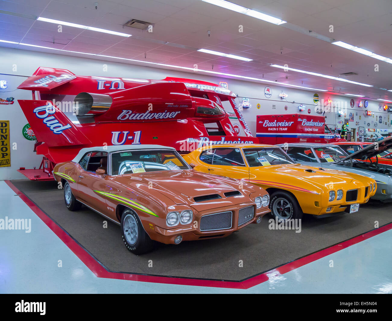 Rick Treworgy S Muscle Car City Auto Museum In Punta Gorda Florida