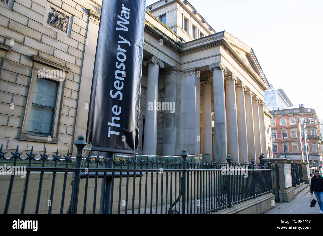 Manchester Art gallery, manchester city centre, UK - Stock Image