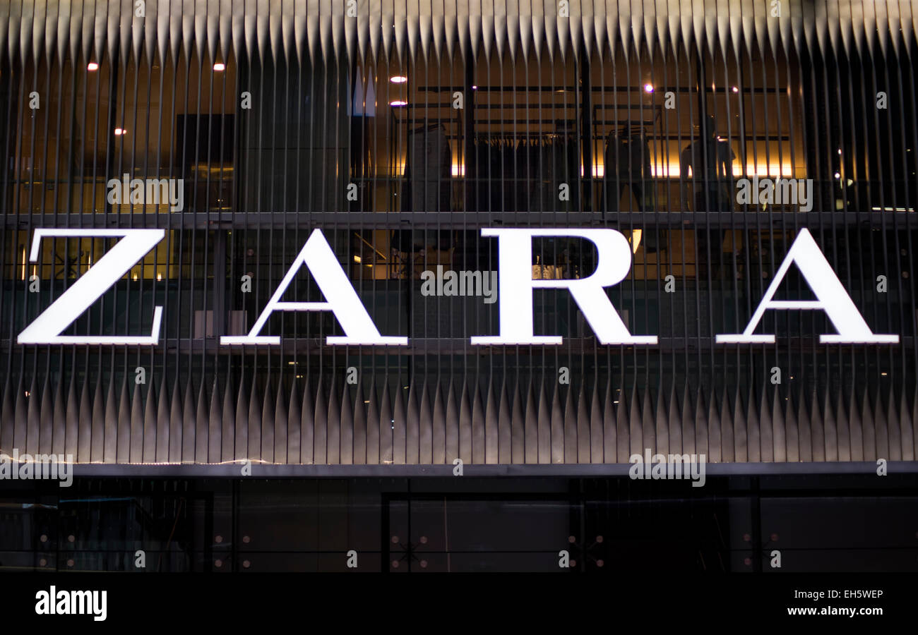 Zara shop in Sidney, Australia  It is a company dedicated to the