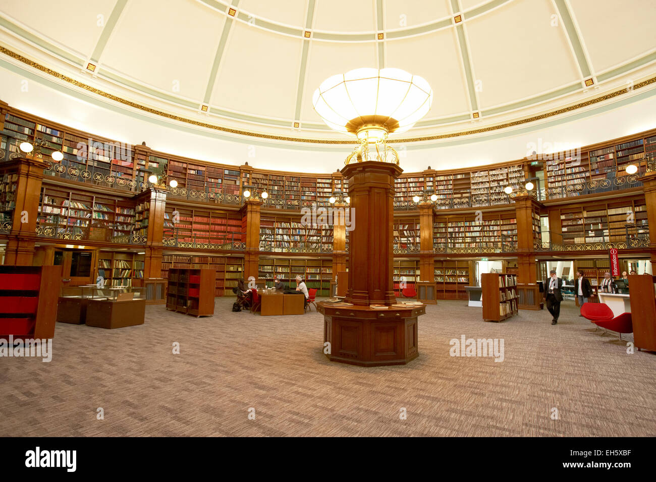 Picton reading rooms in Central Library Liverpool Merseyside UK Stock Photo