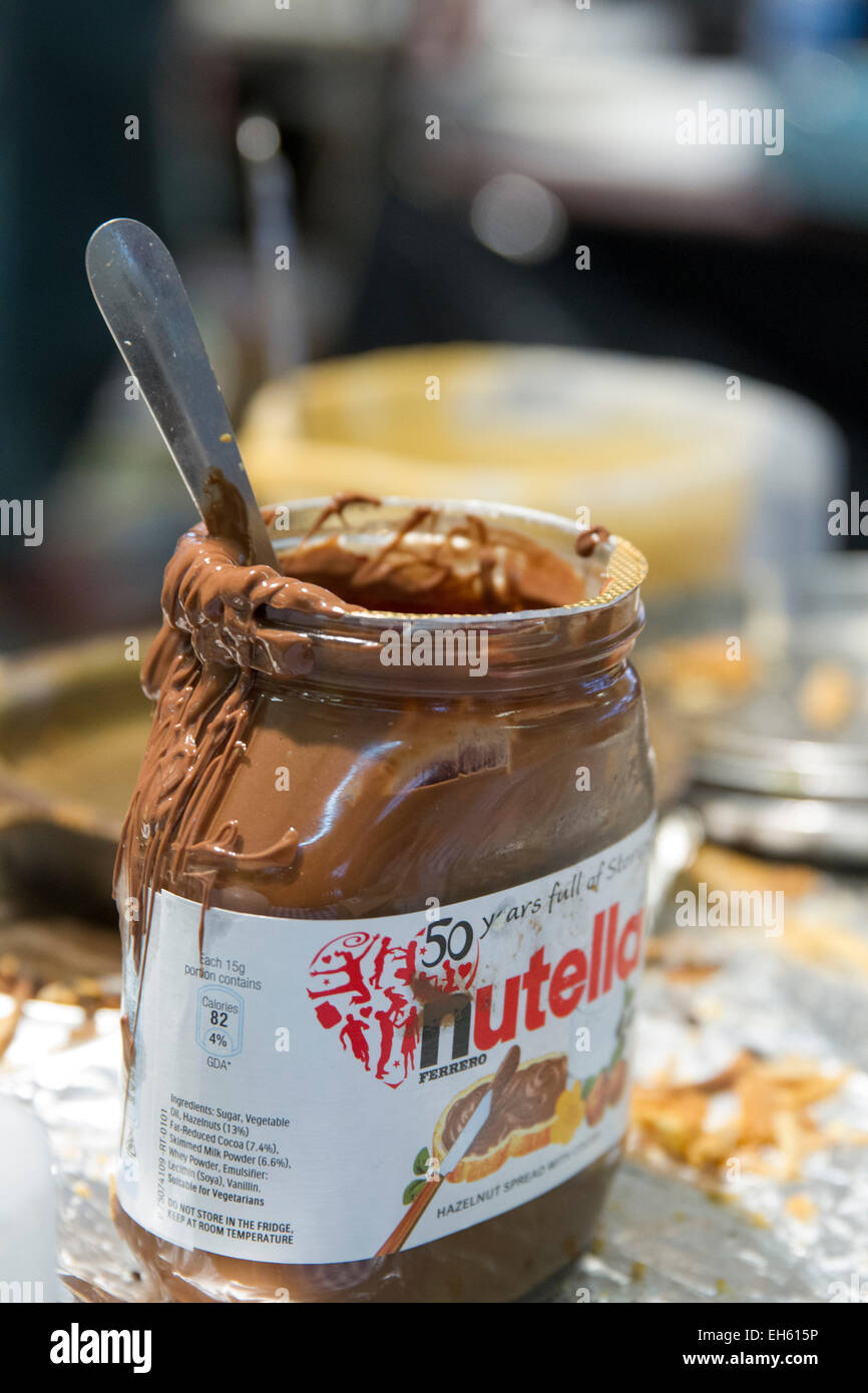 Chocolate Sauce - Stock Image
