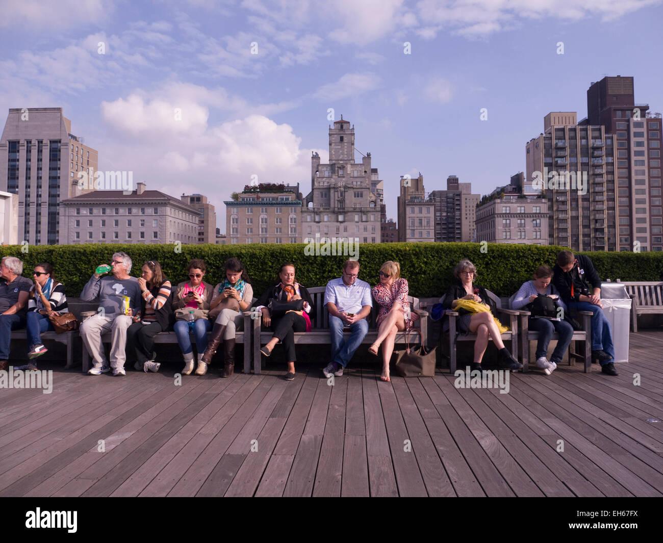 Roof Garden Café And Martini Bar, The Metropolitan Museum Of Art, New Stock Photo - Alamy