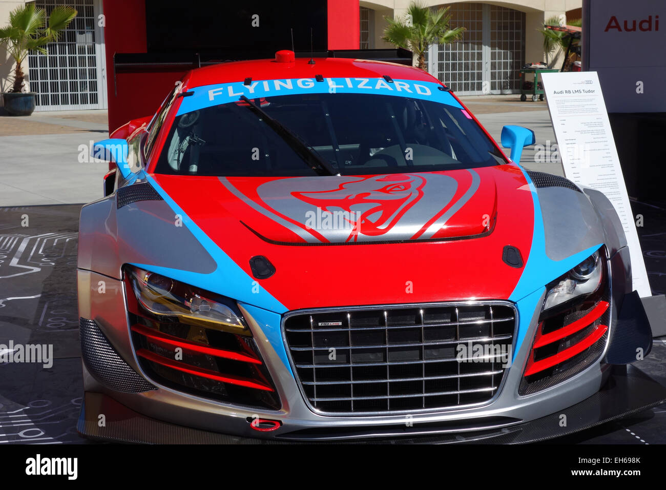 R8 LMS Tudor Known As The Flying Lizard Is A V10 Sports Car Made By Audi