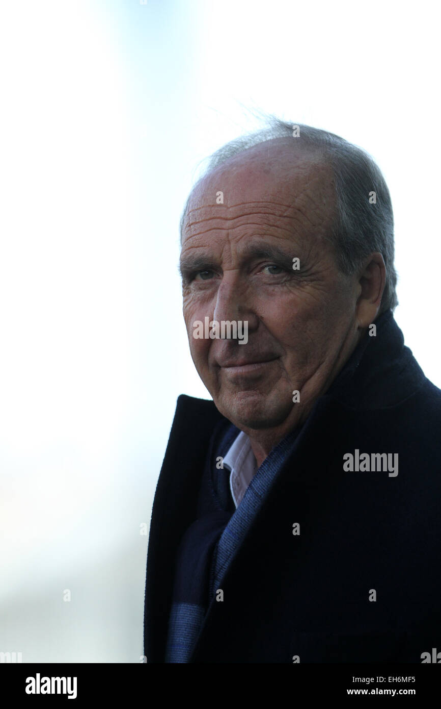 Udine, Italy. 8th March, 2015. Giampiero Ventura Torino's Coach during the Italian Serie A football match between Stock Photo