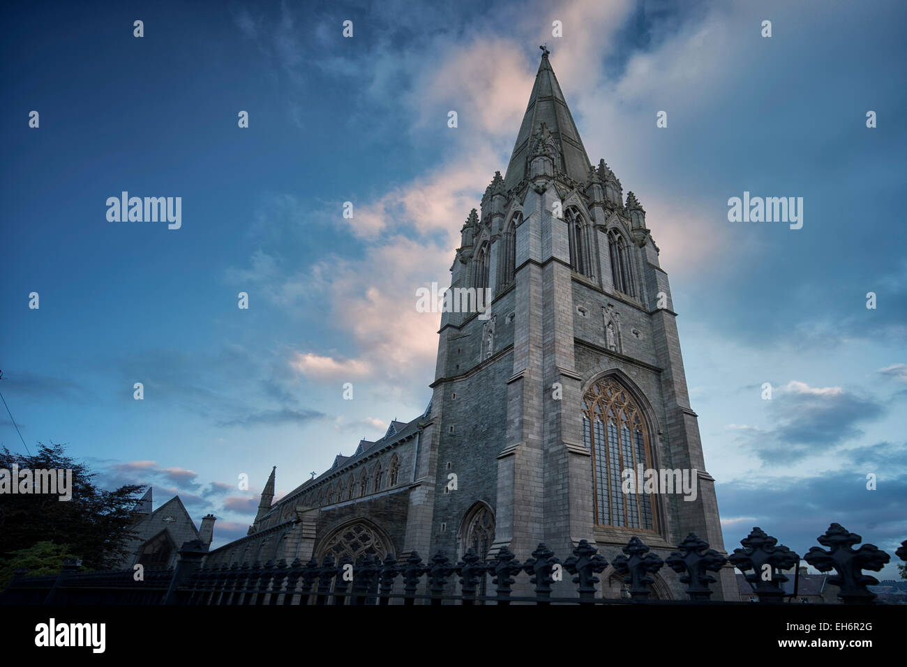 St. Eugen's Cathedral. Derry, Northern Ireland - Stock Image