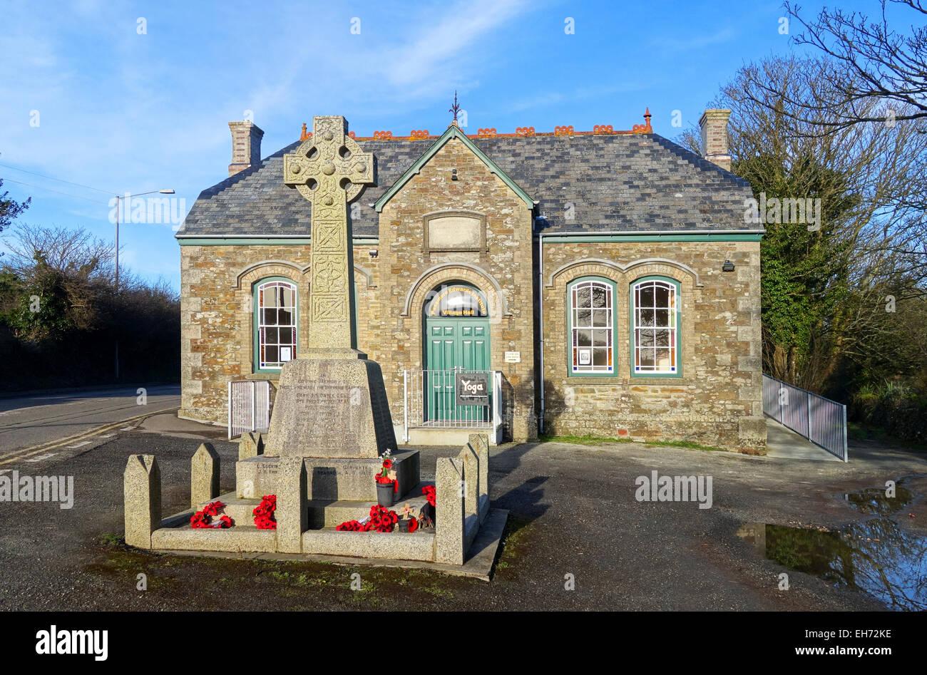 village hall - Stock Image