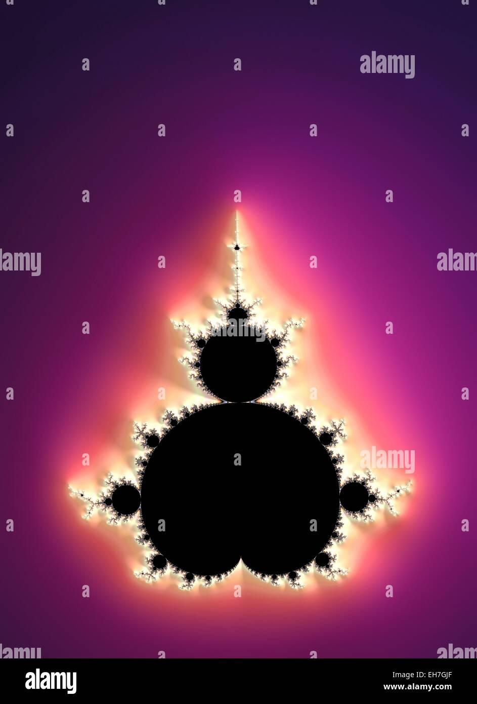 Mandelbrot fractal - Stock Image