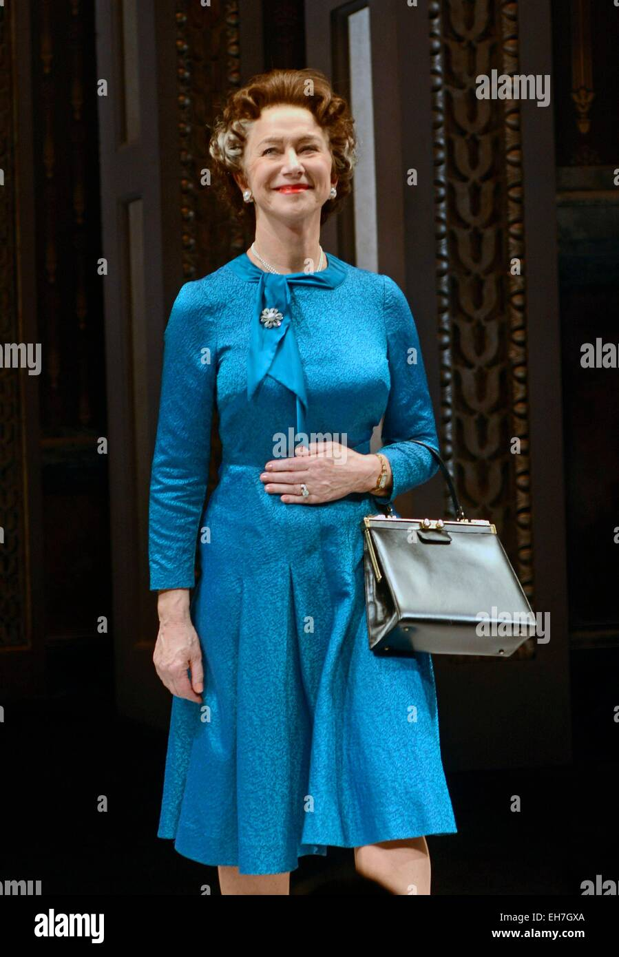 New York, NY, USA. 8th Mar, 2015. Helen Mirren in attendance for THE AUDIENCE Opening Night on Broadway, Gerald Stock Photo