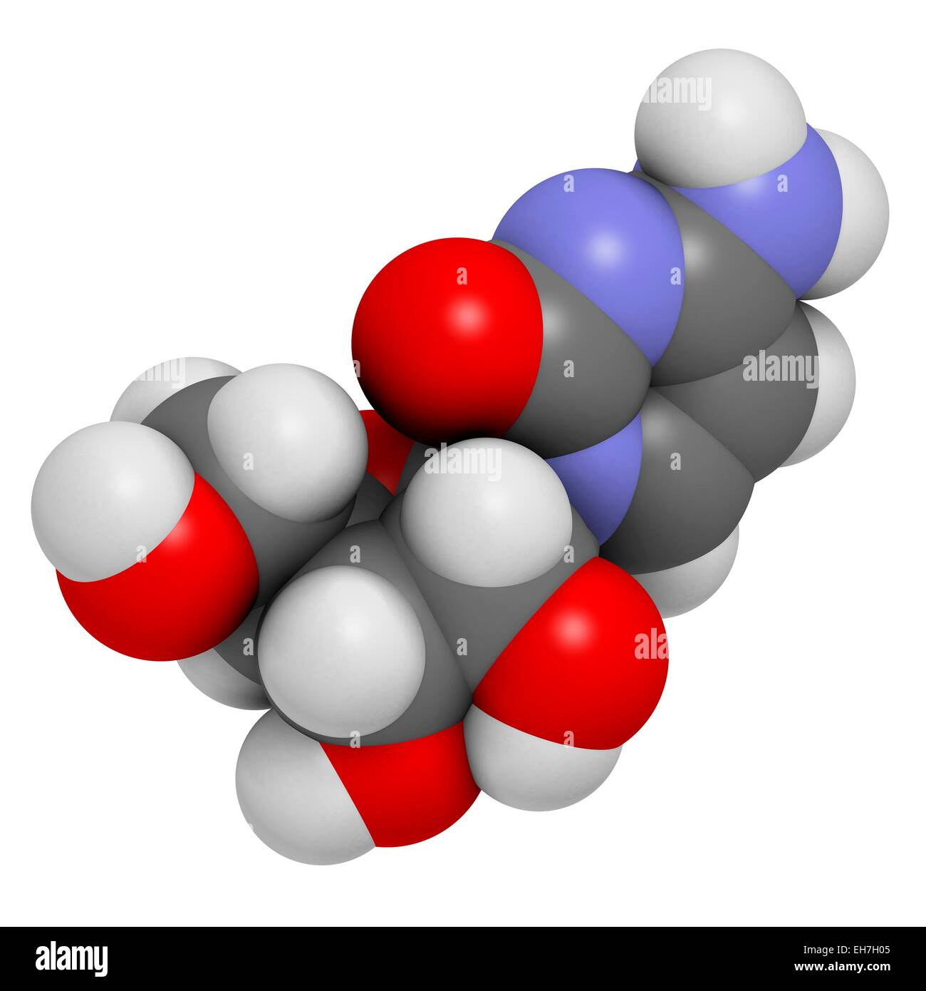 Cytidine molecule Stock Photo