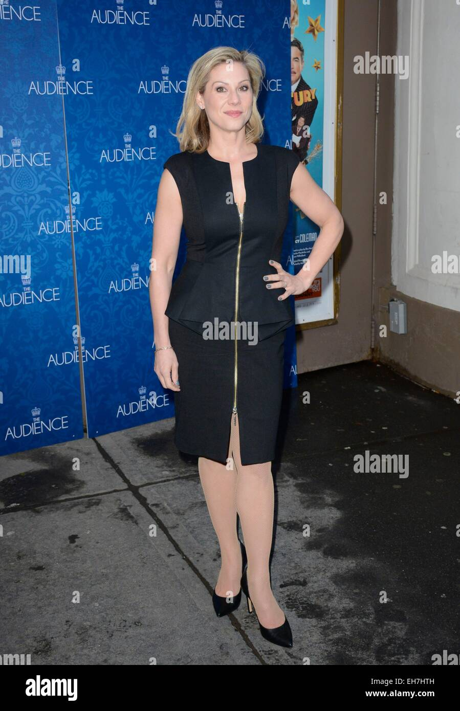 New York, NY, USA. 8th Mar, 2015. Lydia Leonard in attendance for THE AUDIENCE Opening Night on Broadway, Gerald Stock Photo