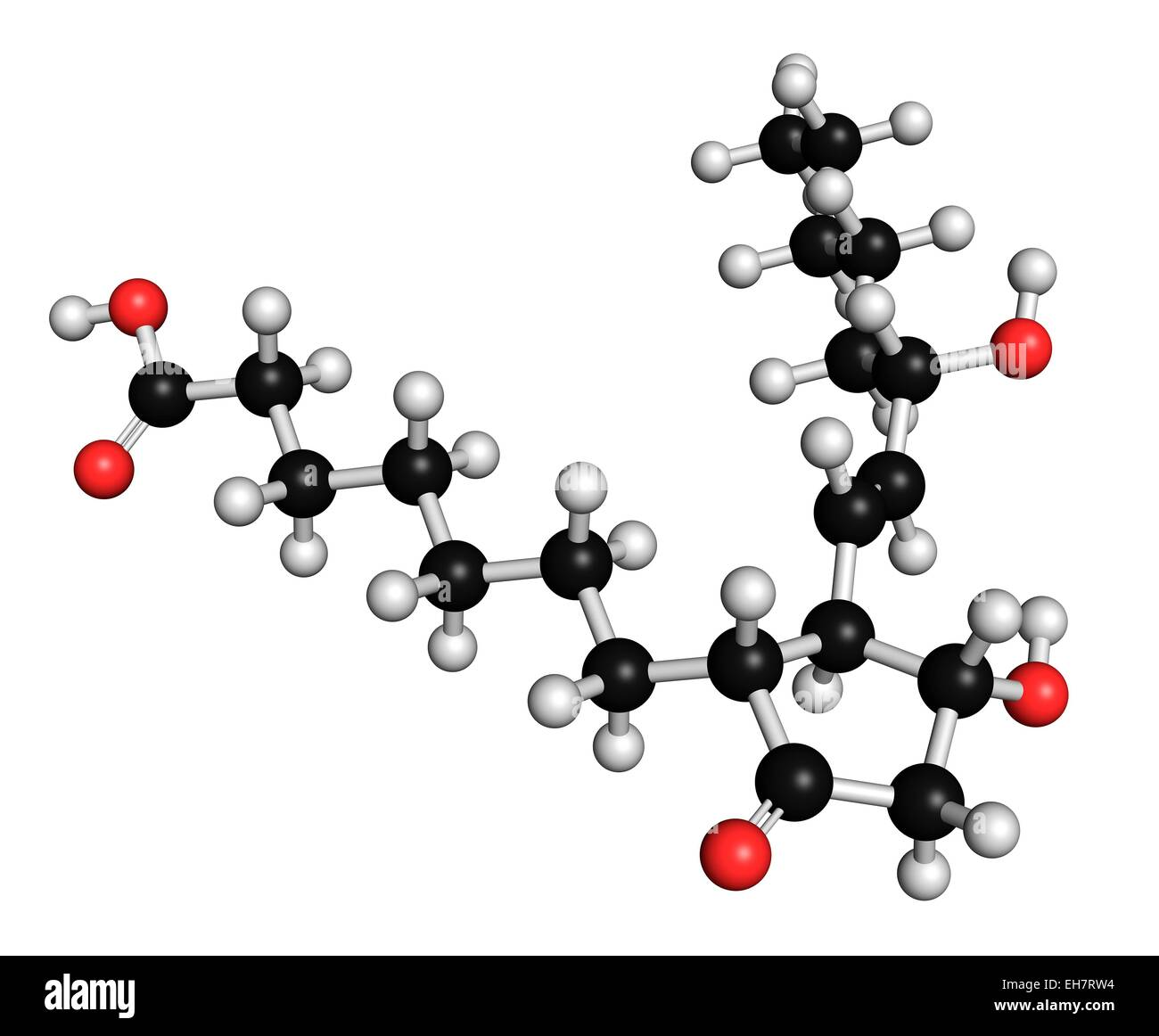 Alprostadil erectile dysfunction drug - Stock Image