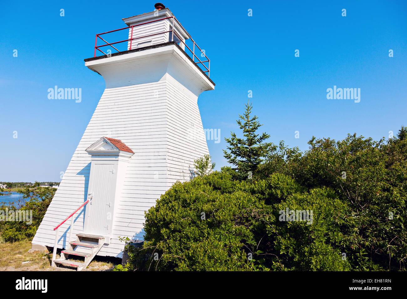 Abbott's Harbour Lighthouse Stock Photo