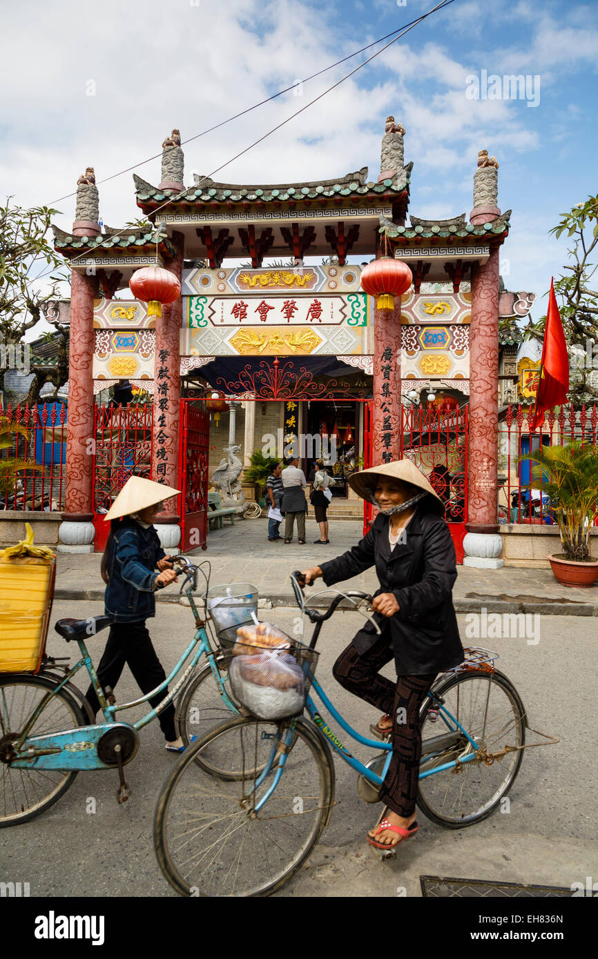 Cantonese Assembly Hall (Quang Trieu), Hoi An, UNESCO World Heritage Site, Vietnam, Indochina, Southeast Asia, Asia - Stock Image