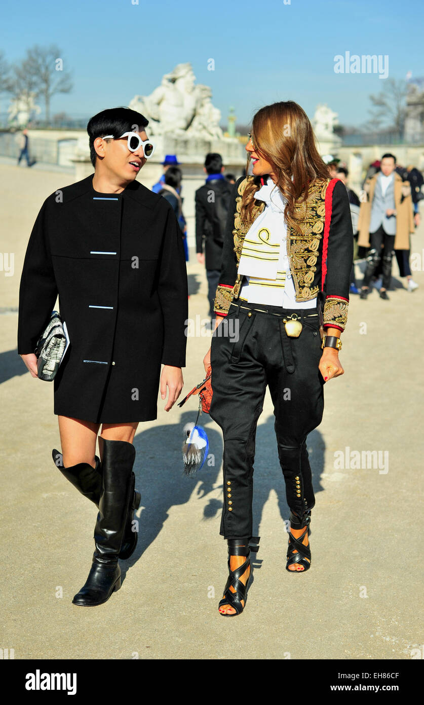 reputable site size 40 fresh styles Anna Dello Russo, Editor of Vogue Japan, arriving at the ...
