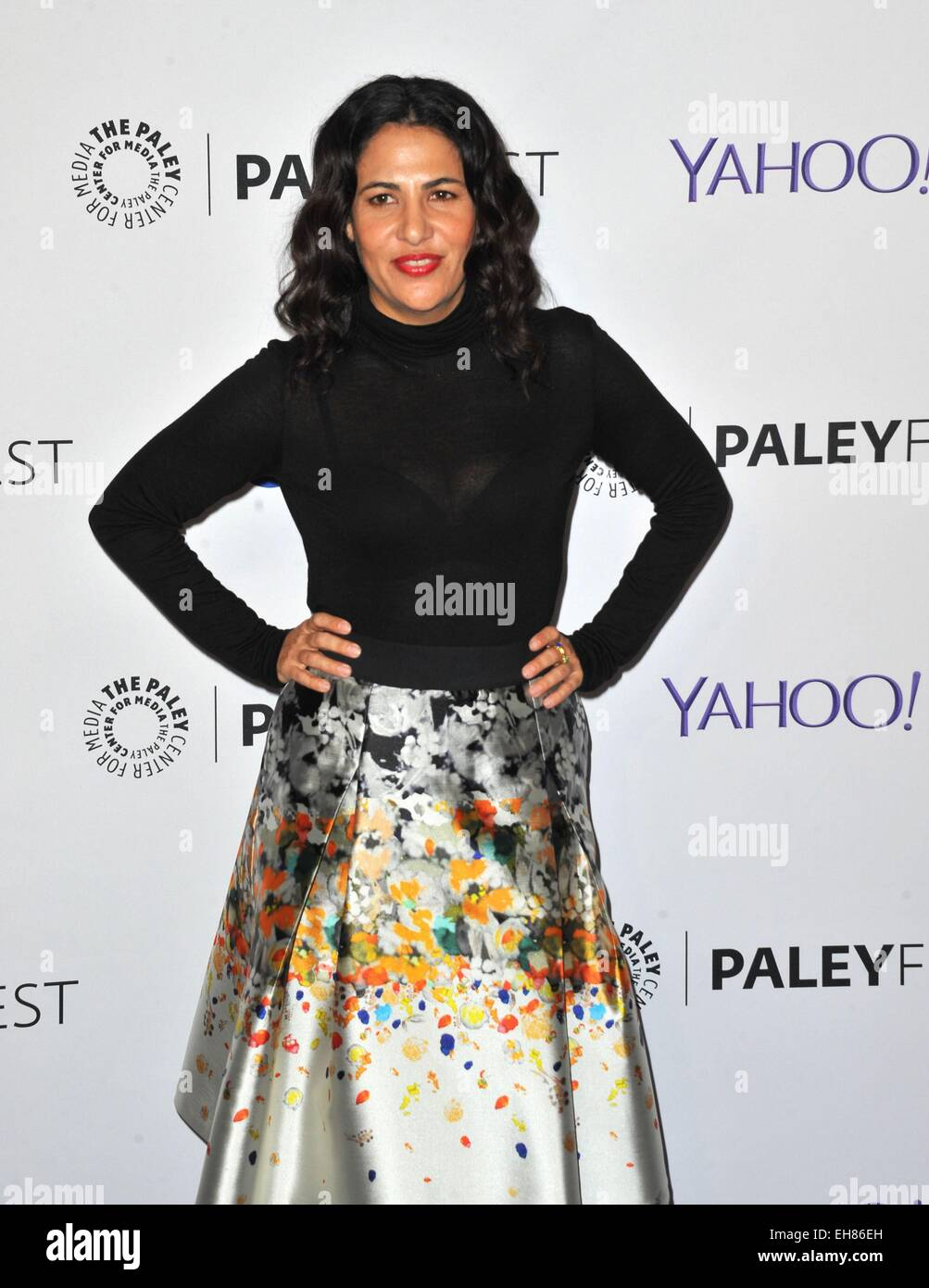 Los Angeles, CA, USA. 8th Mar, 2015. Jenni Kenner at arrivals for 32nd Annual PALEYFEST Honors HBO's GIRLS, - Stock Image