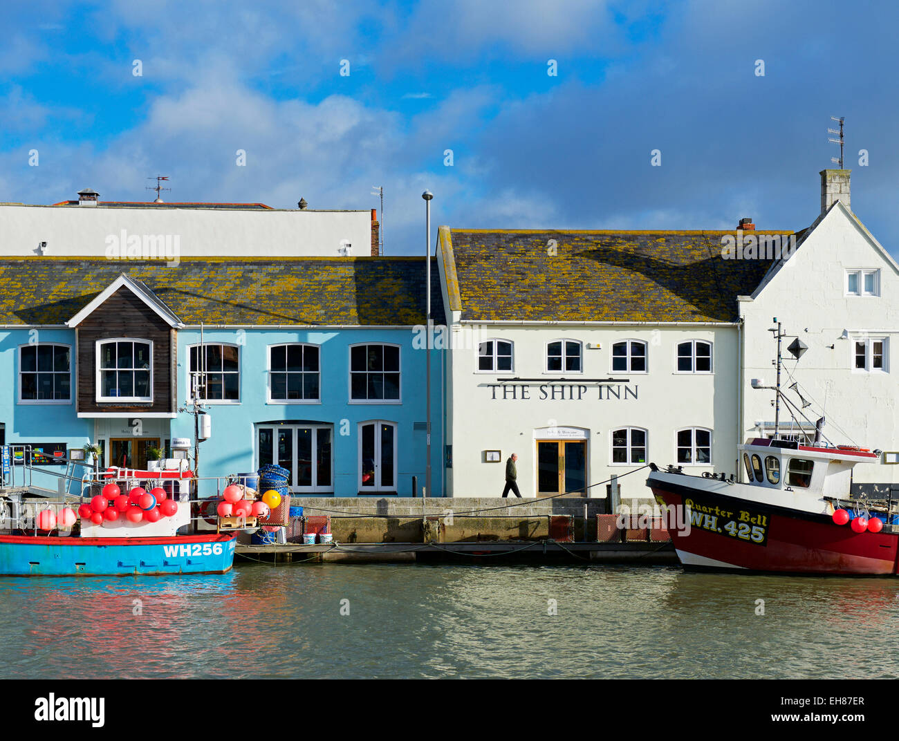 The Ship Inn, Weymouth, Dorset, England UK - Stock Image