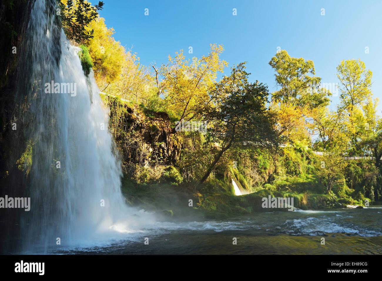 Duden Falls, Antalya, Antalya Province, Anatolia, Turkey, Asia Minor, Eurasia - Stock Image